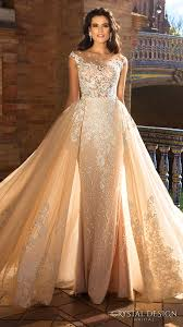 beautiful wedding dresses from the 2017 crystal design collection