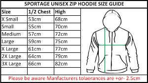 Sportage Unisex Zip Up Hoodie