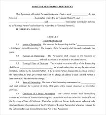Sample Joint Venture Agreement 10 Documents In Pdf Word
