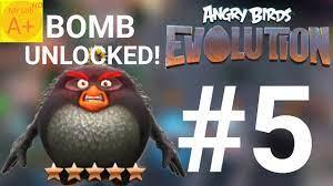 Bomb Unlocked - Angry Birds Evolution #5 - YouTube