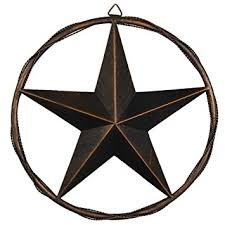 amazon com 13 vintage rustic metal barn star in cast wired