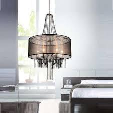 amelia 6 light chrome chandelier