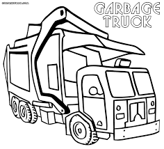 Small Picture Garbage Truck Coloring Pages Coloring Pages To Download And