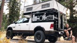 Taking A Tour Around The ULTIMATE Pop-Up Truck Camper - YouTube