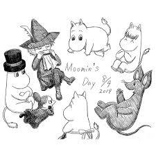 At 28yasha 猫夜叉 ムーミンの日おめでとう