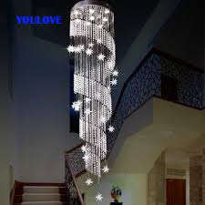 stairs light restaurant meal home lighting decoration. free shipping led modern crystal long star pendant lights dining room parlor hall foyer lobby restaurant stair lamps stairs light meal home lighting decoration o