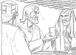 Small Picture The Last Supper Coloring Pages