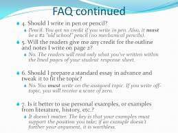 preparing for the sat writing section ppt 4 faq