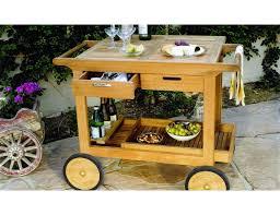 kingsley bate teak serving cart sc35 for outdoor idea 10