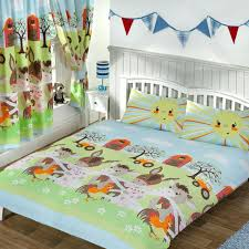 woodland bedding cool kids creatures twin