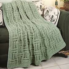 Free Afghan Knitting Patterns Circular Needles Delectable Ravelry Quick Knit Basketweave Afghan Pattern By Carole Prior
