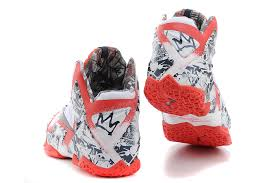 lebron james shoes white and red. nike new lebron james 11 white-red navy blue for sale cheap-3 lebron shoes white and red