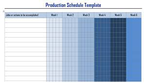 Microsoft Word Schedule Templates Production Schedule Templates In Word Format Wordtemplateinn