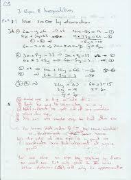 edexcel c1 3 equations and inequalities
