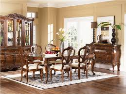 country style dining rooms. Rustic Country Style Dining Room Furniture Design With Glass Top Table And 6 Antique Chairs White Fabric Seats Plus Carpet Tiles Rooms