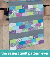 Quilt tutorials week, day 1: easy quilting - Stitch This! The ... & The easiest quilt pattern ever Adamdwight.com