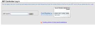 Ebtedge Cardholder Log In Sign Up Login Helps