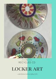 Our girls loved her simple project to make CD locker magnets, happily  upcycled CDs into coasters at a sleepover, and my daughter is excited to  use up the ...