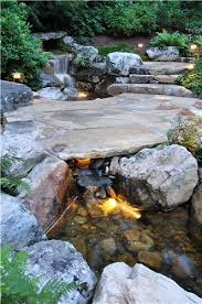 Garden Ponds Designs Fascinating Waterfall Created By R A Water Features And Landscaping In