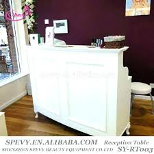 desks salon reception desk for receptionist desks furniture hair furnitu