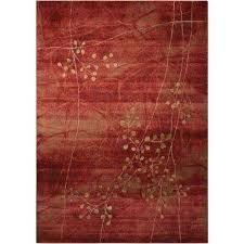somerset flame 8 ft x 11 ft area rug