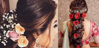 Use your length to your advantage by rocking one of these 16 long curly hairstyles for your wedding. From Mehendi To Reception Bridal Hairstyle Ideas For Wedding And Pre Wedding Ceremonies Lakme Academy