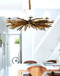 white driftwood pendant light hanging lamp good outdoor graceful beach house chandelier modern dining chairs set