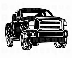 Pickup Truck SVG Pickup Truck Clipart Pickup Truck Files for | Etsy