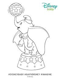 Small Picture Dumbo Coloring Pages Disney Baby