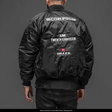 drake scorpion black jacket