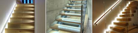 in stair lighting. LED Strip Lights. An Essential Addition To Your Staircase In Stair Lighting