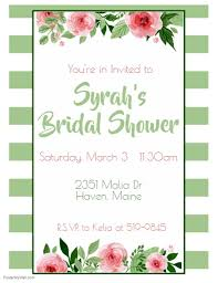 Bridal Shower Template Stunning Bridal Shower Template PosterMyWall