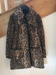 las leopard print coat miss selfridge new