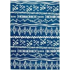 bungalow rose botolph tribal blue white area rug wayfair blue and white rug blue white rug blue area rugs