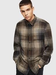 Mens <b>Shirts</b>: cotton, denim | Diesel Online Store <b>US</b>