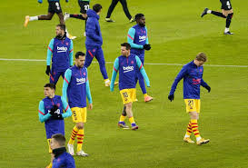 Barcelona kept their champions league dreams alive saturday at the camp nou as they defeated napoli in their round of 16 second leg to advance to the quarterfinals. Barcelona Predicted Line Up Vs Granada Starting 11