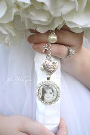 mini photo frames for wedding bouquets