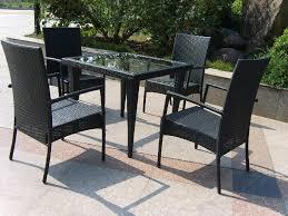 Furniture Mesmerizing Wicker Loveseat For Outdoor Or Indoor Black Outdoor Wicker Furniture
