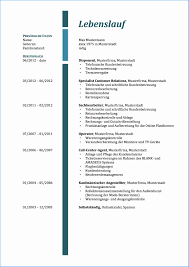 11 Tabellarischer Lebenslauf 2015 Rechnungsvorlage