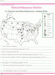 map scale worksheets free library download and print landforms ...