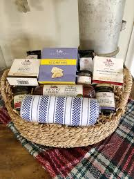 if you are looking for a gift for someone who needs to be pered stop right here this is perfect look what is included in this hickory farms basket