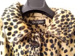 las miss selfridge leopard print coat size uk12 excellent condition cost 90