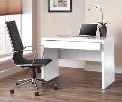 baumhaus hidden home office 2. Luxor White Gloss Home Office Desk Workstation With Hidden Drawer Baumhaus 2