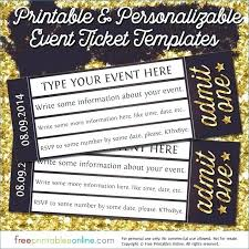Play Ticket Template Play Ticket Template Christmas Party Free Download Word