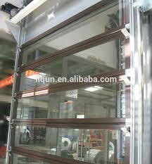aluminum glass garage door glass garage door fabulous green glass door