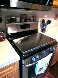 ceramic stove top protector glass top stove cover post glass top range protective cover glass