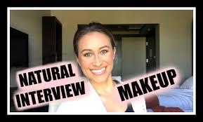 new natural interview makeup tutorial