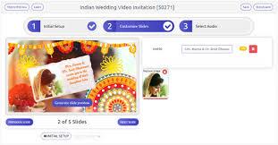 wedding invitation video maker