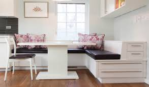 Smart Built-in Banquette Seating For Cozy Dining Area   Dining ...