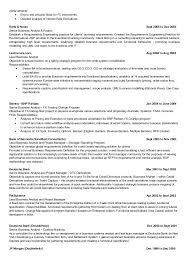 Business Analyst Resume Format Sample Resume Of Business Analyst ...